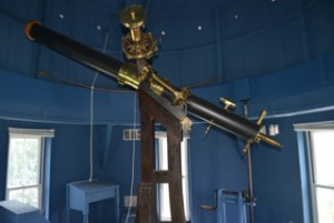 "The 7"" Clark refractor of the Hopkins Observatory, 1851"