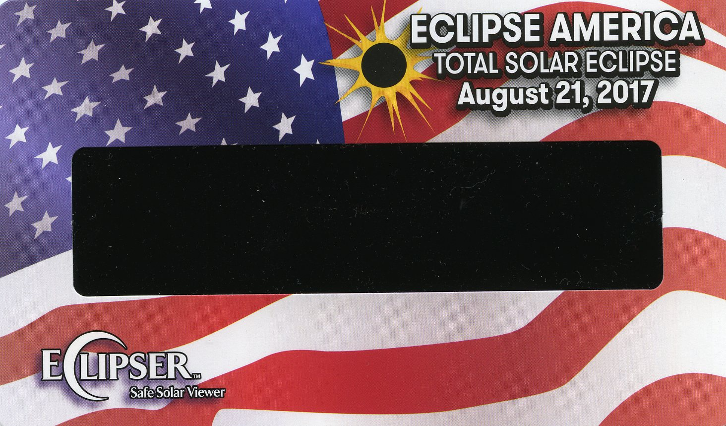 Great American Eclipse 21 August 2017 (obverse)