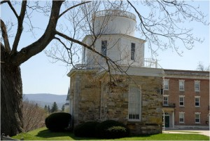 Exterior of Hopkins Observatory in 2008